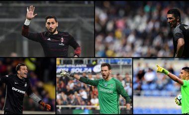 Pagat e gjithë portierëve në Serie A, Donnarumma i pari Strakosha e Berisha në mesin e të 'varfërve'