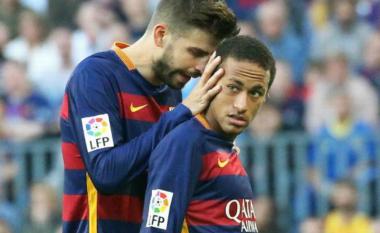 Pique sulmon Neymarin: Dëmtoi skuadrën tonë