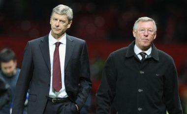 Wenger barazon rekordin e Fergusonit për ndeshje të drejtuara në Ligën Premier (Foto)