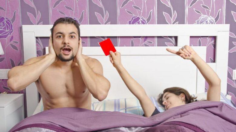 Seksi gjatë menstruacioneve i bën ato të përfundojnë më shpejt – por ajo duhet të përjetojë orgazëm për ta gëzuar këtë përfitim