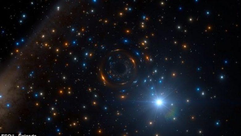 Gjendet vrima e zezë sa katër diej në Galaktikën e Qumështit