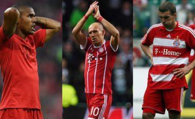 Pesë yje që do të mund të bëheshin legjenda të Bayern Munich nëse nuk do të ishte Arjen Robben, aty edhe Xherdan Shaqiri (Foto)