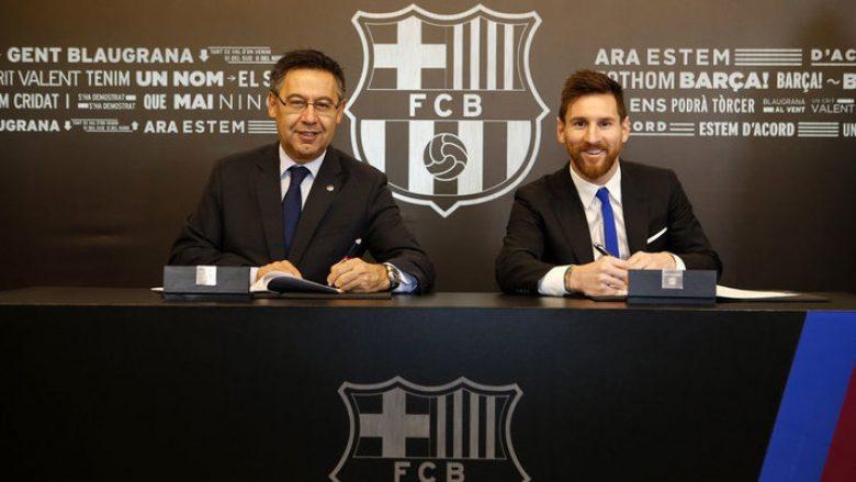 Paga e Messit te Barcelona është 100 milionë euro në vit, dalin detajet e kontratës