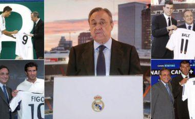 Dikur mbret i transferimeve tani Real Madridi është klubi që ka harxhuar më së paku, Barcelona rekordere