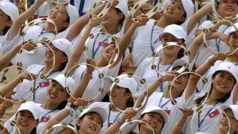 Jo vetëm kërcënime bërthamore-Koreja e Veriut, gati një ushtri vajzash për Olimpiadën dimërore