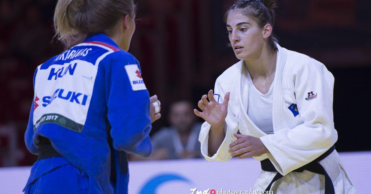 Nora Gjakova humb në finale  fiton medaljen e argjendtë