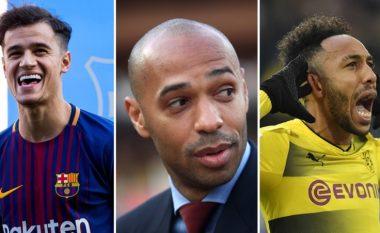 Kur klubet italiane bëjnë gabime trashanike – 'Dështimet' që u kthyen në yje, nga Henry, Aubameyang te Coutinho (Foto)