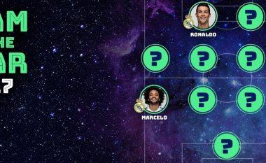 Fansat zgjedhin ekipin e vitit në UEFA- Buffon në portë, Ramos e Marcelo në mbrojtje, Messi e Ronaldo në sulm (Foto)