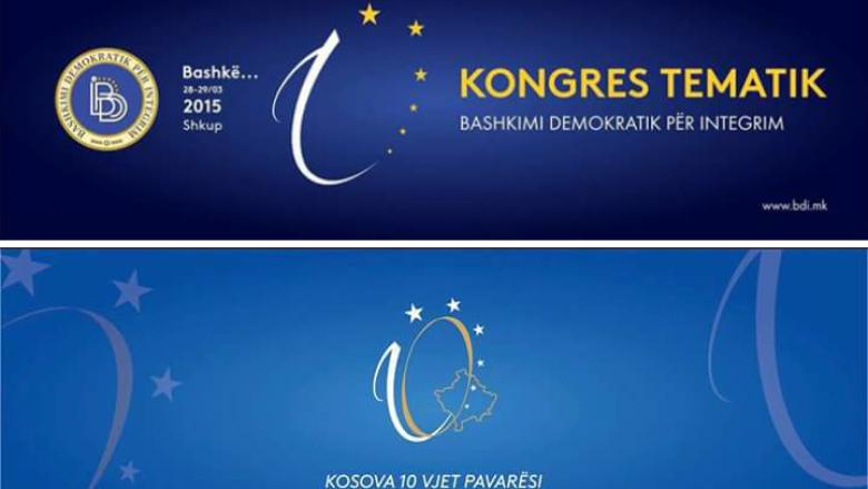 A është e kopjuar edhe logoja tjetër e 10 vjetorit të Pavarësisë së Kosovës? (Foto)