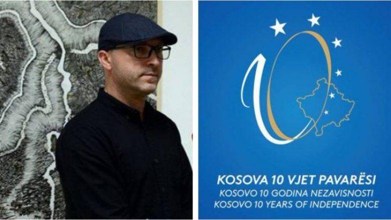 Autori Zeni Ballazhi, mohon se është plagjiaturë logoja e 10-vjetorit të Pavarësisë