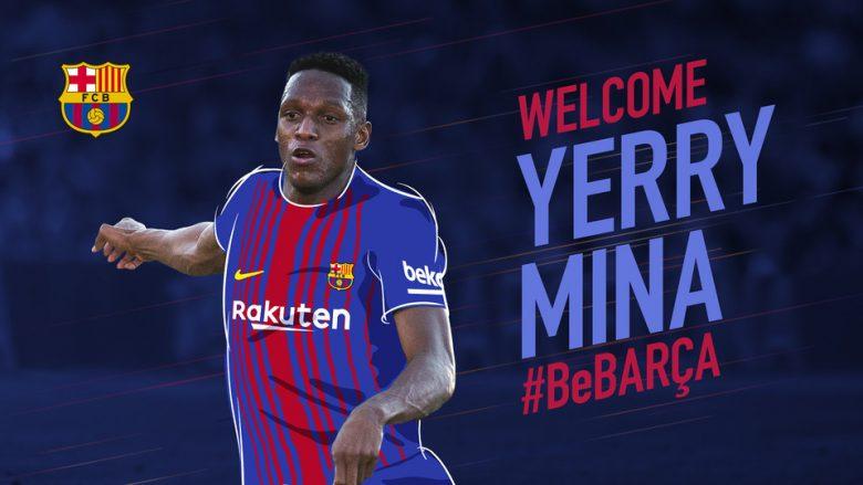 Zyrtare: Barcelona nënshkruan me Yerry Mina