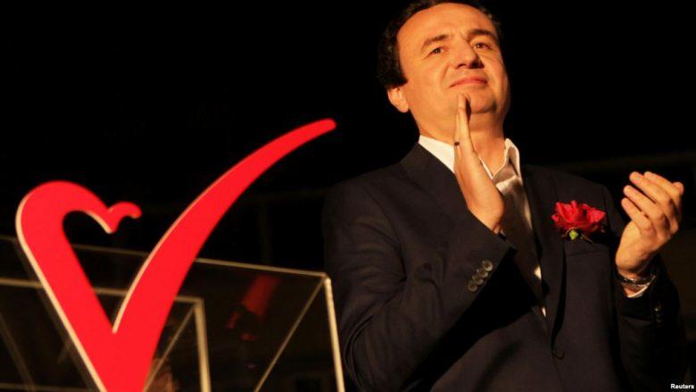 Albin Kurti kryetar i Lëvizjes Vetëvendosje, me 98.82% të votave të fituara