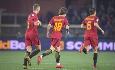 Antonucci bën një tatuazh domethënës pasi asistoi në debutimin e tij me Romën – E refuzoi Manchester Unitedin pasi ëndërron të bëhet si Totti te 'Giallorosët' (Foto/Video)