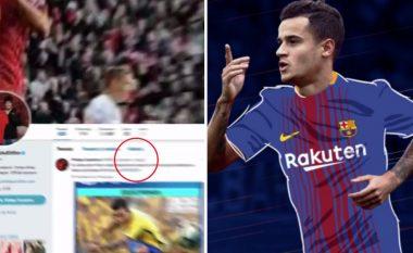Barça ka një montazher dembel, aksidentalisht tregon se transferimi i Coutinhos ishte punë e kryer që në gushtin e 2017? (Foto/Video)