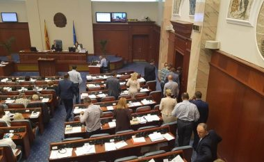 """Këta janë deputetët e OBRM-PDUKM-së që votuan """"pro"""" ndryshimeve kushtetuese"""