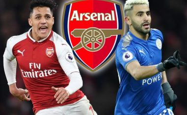 Manchester City në fundjavë e mbyll marrëveshjen për Sanchezin, Arsenalin e sheh Mahrezin si zëvendësues të kilianit