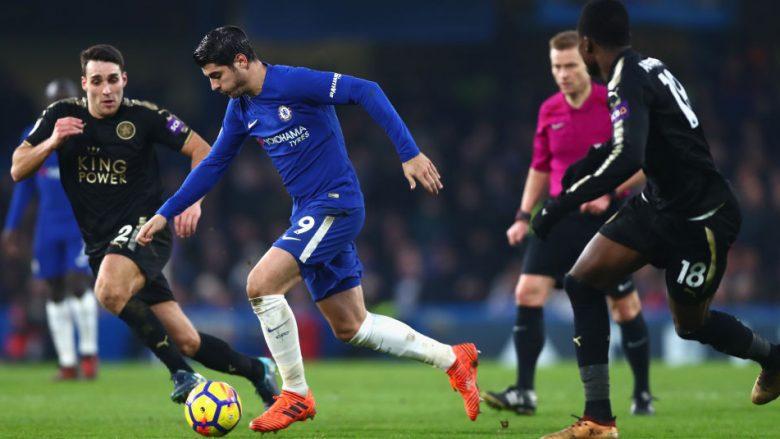 Chelsea dhe Leicesteri luajnë pa gola