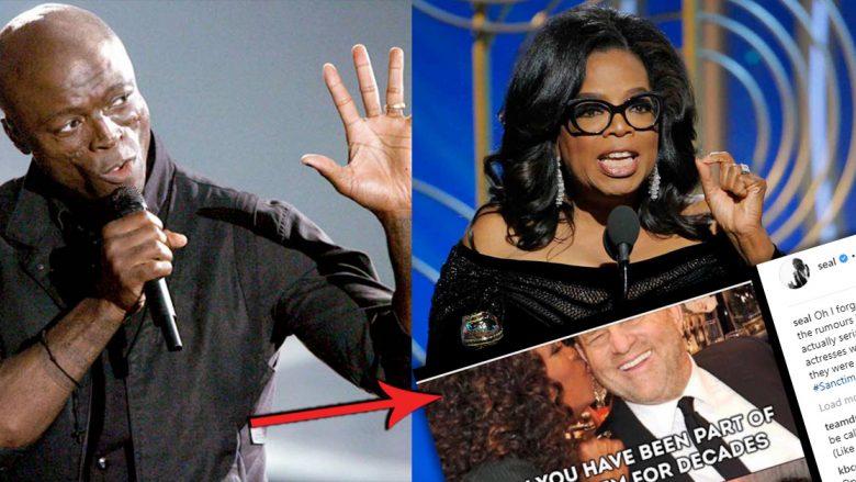 Seal: Winfrey deri dje puthej me Harvey Weinstein, sot po e akuzon për abuzim seksual