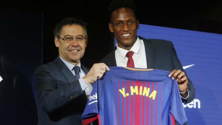 Mina prezantohet te Barcelona, zbath atletet për të ndje barin e Camp Nout: Jam në klubin më të mirë në botë, dua të bëjë histori (Foto/Video)
