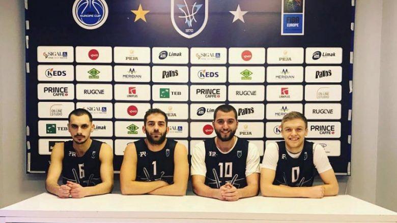 Prishtina zyrtarizon katër basketbollistë