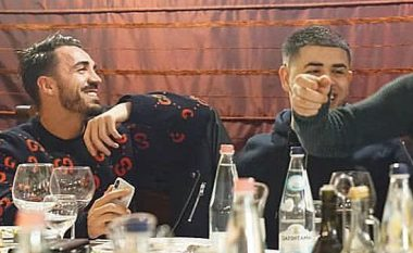 Noizy dhe Blerim Destani shfaqen duke kënduar 'tallava' (Video)