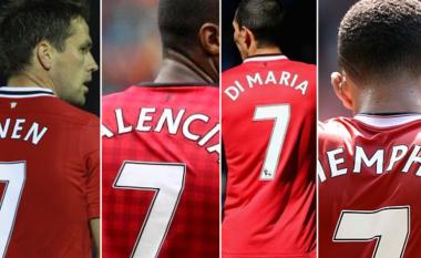 Numri 7 është kthyer në 'mallkim' te United – Sanchez e ka për detyrë t'ia kthejë shkëlqimin e humbur nga Owen, Valencia, Di Maria dhe Depay (Foto)