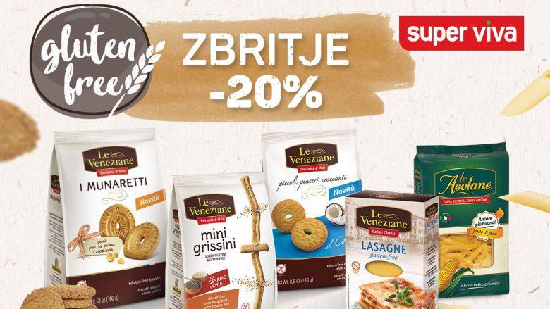 """Në ditën ndërkombëtare """"Gluten Free"""", Super Viva sjellë produkte të reja me Zbritje"""