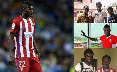 Nuk u zgjodh fillimisht për prova nga agjenti - Iku nga Gana pa i treguar familjes, sot lojtar i Atletico Madridit