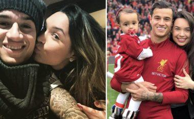 Philippe Coutinho dhe Aina - një tregim i vërtetë dashurie (Foto/Video)