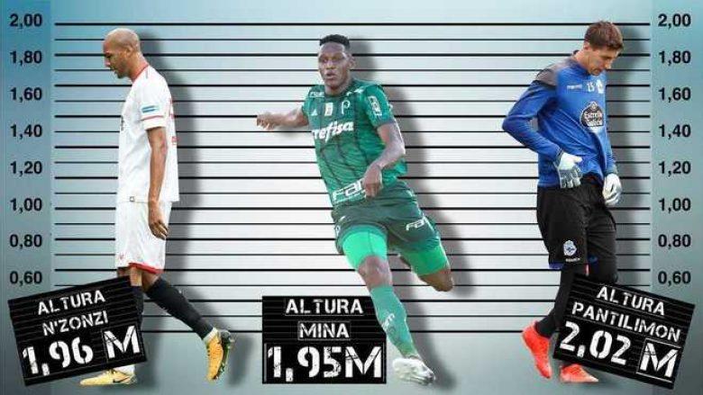 Mina ia rregullon Barçës mesataren e gjatësisë, por bëhet vetëm i gjashti në kampionat – Këta janë 11 futbollistët më të gjatë në La Liga (Foto)