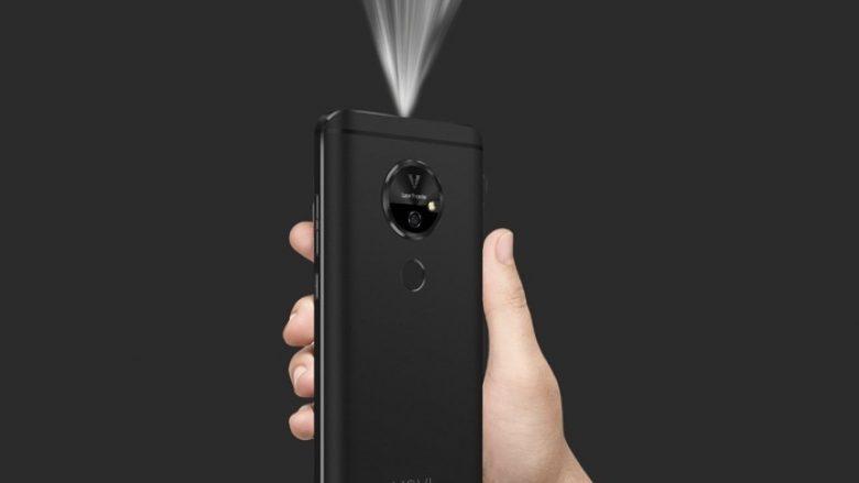 CES: Debuton telefoni me projektor