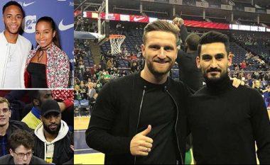 Ferguson, Mustafi dhe shumë yje të futbollit dëshmitar të fitores së Bostonit ndaj Philadelphia në Londër (Foto/Video)