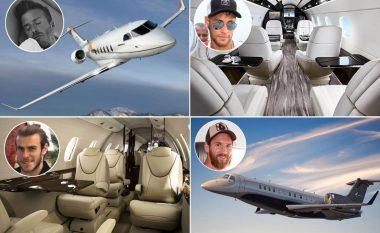 Ronaldo, Messi dhe Neymar kanë aeroplanët e tyre privatë, por kush e zotëron më të shtrenjtin? (Foto)