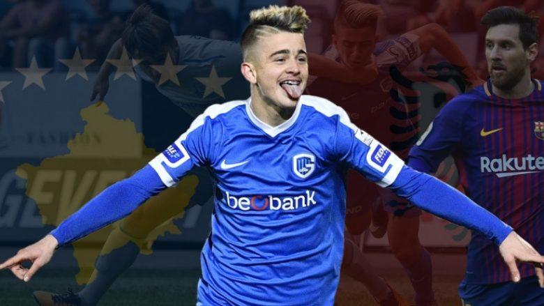 Goal.com: Edon Zhegrova, supertalenti nga Kosova që ëndërron Barcelonën