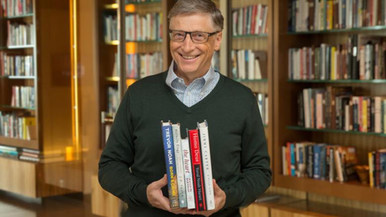 Rekomandim nga Bill Gates, Mark Zuckerberg e Elon Musk: Librat që duhet t'i lexoni nëse dëshironi të bëheni miliarderë
