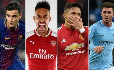 Afati i janarit ishte më i çmenduri ndonjëherë – Rekorde të thyera nga klubet dhe lëvizje të emrave të njohur (Foto)
