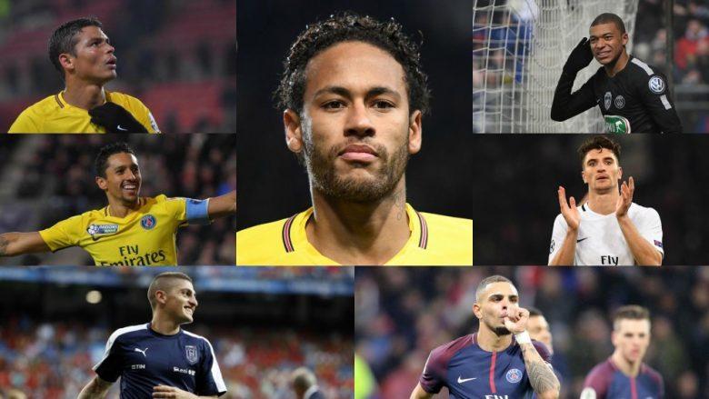 Shtatë futbollistët e PSG-së që kanë mundur të luajnë për Real Madridin