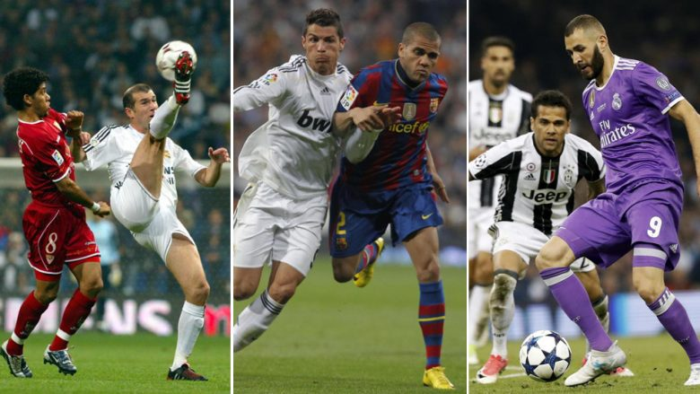 Dani Alves, një histori prej 15 vitesh kundër Real Madridit