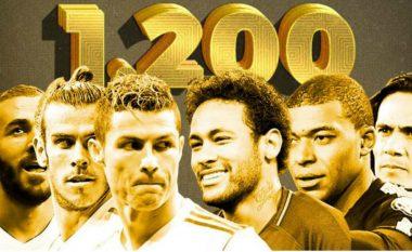 Real Madrid vs PSG - vlera e pabesueshme e lojtarëve në fushë