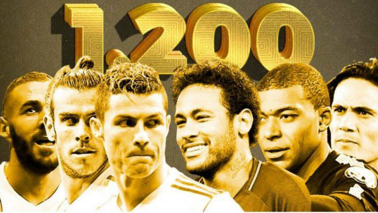 Real Madrid – PSG: Ndeshja ku vlera e lojtarëve te të dyja skuadrat është 1.6 miliard euro, 1.2 miliard në fushë
