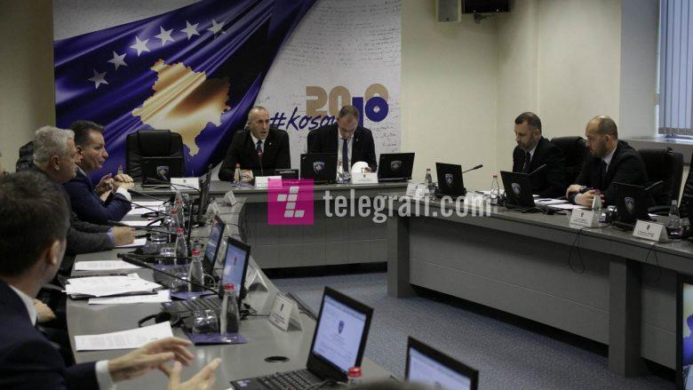 Haradinaj njofton kabinetin qeveritar për vizitën në SHBA