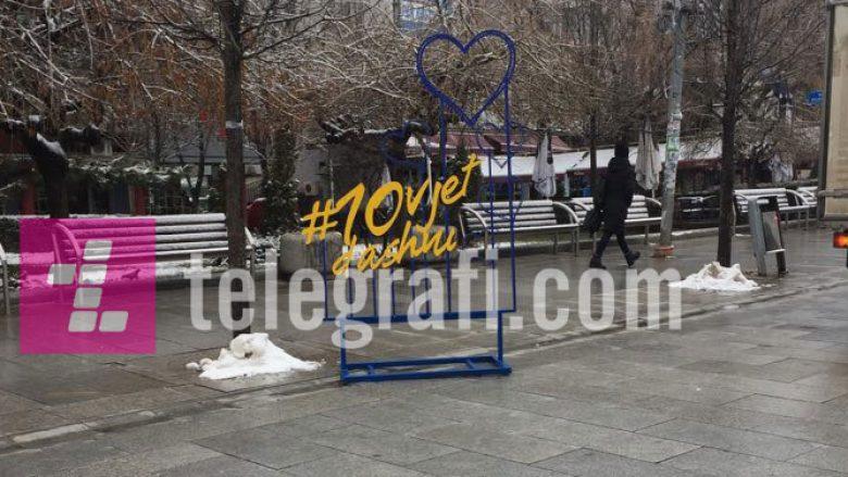 """#10vjetdashuri nga Kosova, mesazh i veçantë për """"Shën Valentinin"""" (Foto)"""