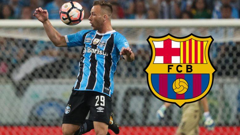 El Mundo: Barca ka marrëveshje me Gremion, Arthur luan në Camp Nou nga janari 2019