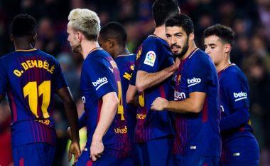 Barcelona shkatërron Gironan, Suarez dhe Messi dhurojnë shou (Video)