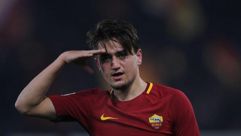 Cengiz Under duke festuar golin e tretë në takim ndaj Beneventos (Getty Images)