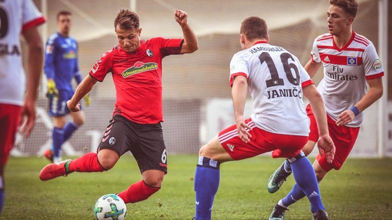 Abrashi shkëlqen edhe në humbje për Freiburgun
