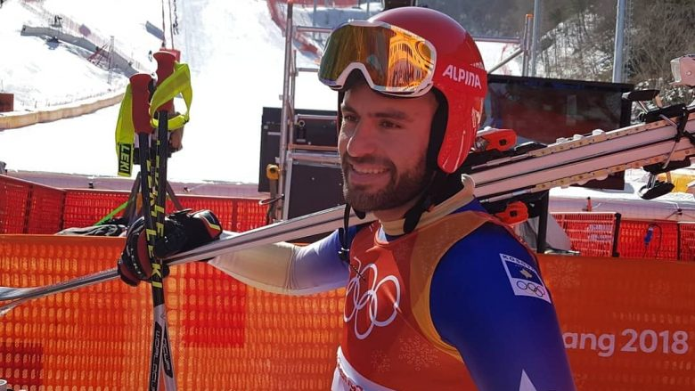 Albin Tahiri përfundon në vendin e 37-të, debutim i kënaqshëm për skiatorin nga Kosova në PyeongChang