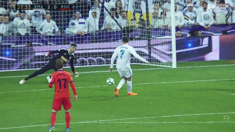 Reali barazon rezultatin ndaj PSG-së, shënon CR7 nga penalltia
