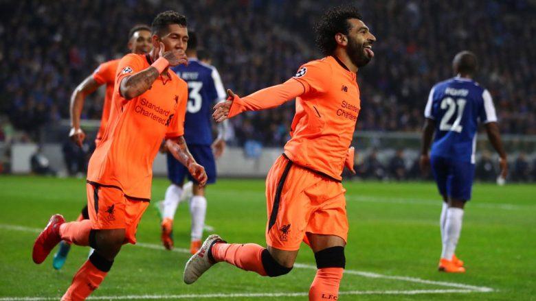 Liverpooli me dy gola të shpejtë ndaj Portos