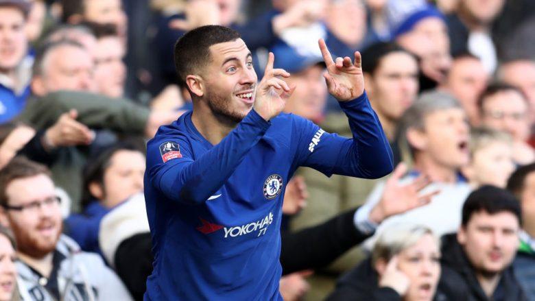 Chelsea i ofron kontratë prej 17 milionë euro në sezon Hazardit që ta largojë interesimin e Real Madridit